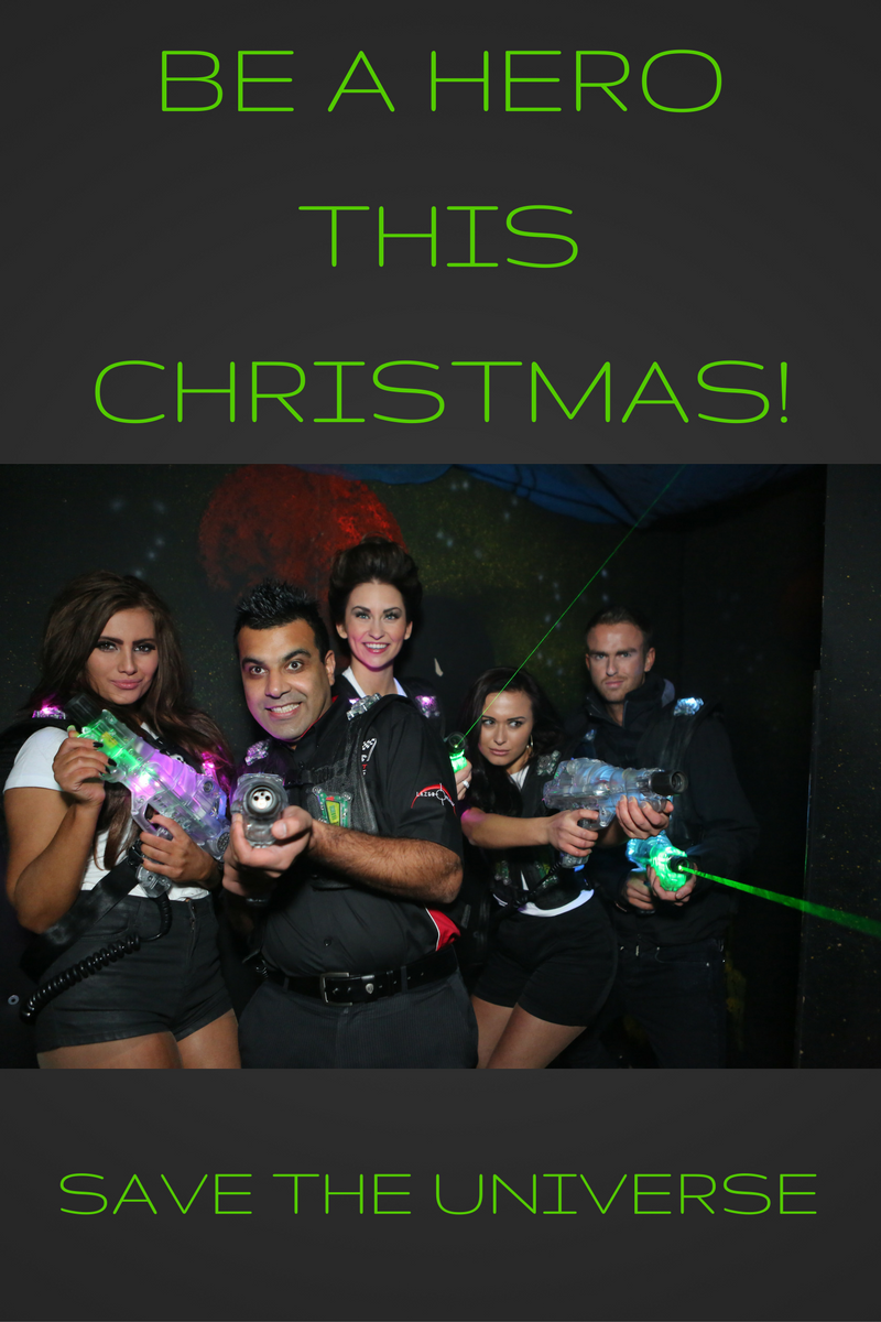 laser tag, lazer tag, lazer planet, glasgow, clydebank, christmas, party, scotkart