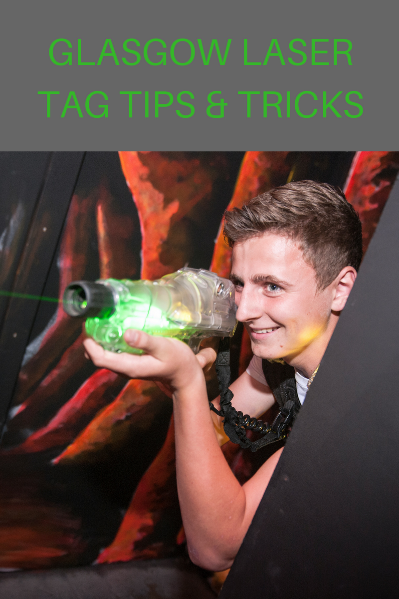 Glasgow laser tag tip how to play
