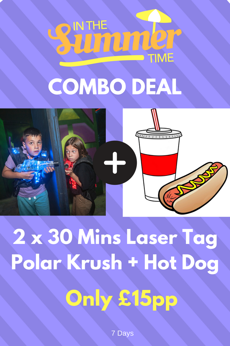 Glasgow Laser Tag Summer Deal 2018 | ScotKart Clydebank
